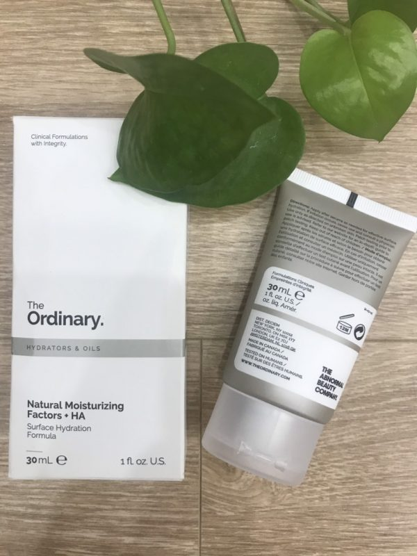 the ordinary dưỡng ẩm natural moisturizing factor 4