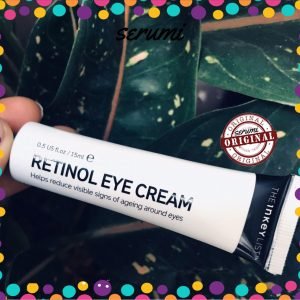 retinol eyecream the inkey list
