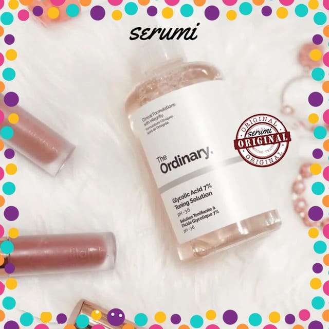 toner glycolic acid the ordinary