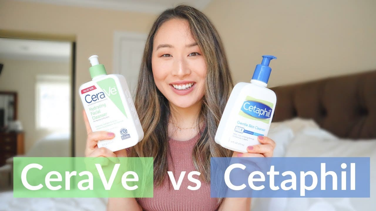 review sữa rửa mặt hydrating cleanser cerave