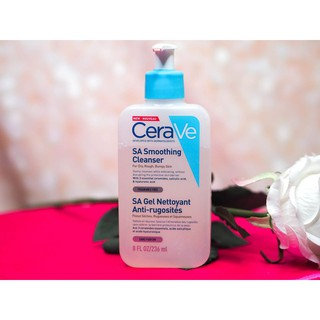 cerave sa smoothing cleanser 2